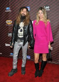 Rob Zombie and Sheri Moon Zombie at the Spike TV's 2008 Scream Awards.