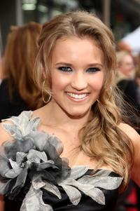 Emily Osment at the premiere of