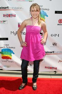 Emily Osment at the Camp Ronald McDonald For Good Times 1st Annual Celebrity Teen Fashion Show.