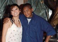 Brenda Song and Kyle Massey at the Disney's Make-A-Wish Fundraiser