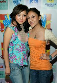 Brenda Song and Kristin Herrera at the Los Angeles premiere of
