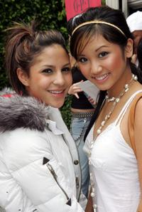 Kristin Herrera and Brenda Song at the 3rd Annual Pamper Me Pink Benefit Event.