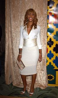 Eve at the HBO Golden Globe after party.