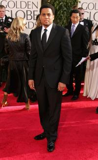 Michael Ealy at the 64th Annual Golden Globe Awards.