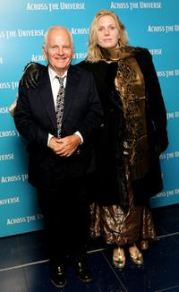 Ian Holm and his guest at the gala premiere of