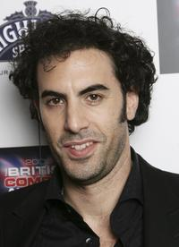 Sacha Baron Cohen at the British Comedy Awards 2006.