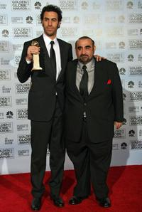 Sacha Baron Cohen and Ken Davitian at the 64th Annual Golden Globe Awards.