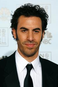 Sacha Baron Cohen at the 64th Annual Golden Globe Awards.