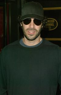 Sacha Baron Cohen at the premiere of