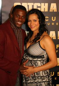 Derek Luke and his wife Sophia Adella Hernandez at the premiere of