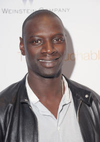 Omar Sy at the New York premiere of