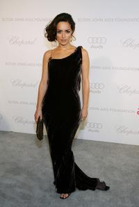 Ana de la Reguera at the 15th Annual Elton John AIDS Foundation Academy Awards viewing party.