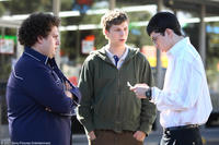 Jonah Hill, Michael Cera and Christopher Mintz-Plasse in