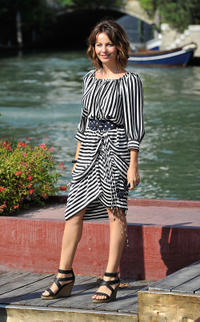 Violante Placido at the day 1 of the 68th Venice Film Festival.