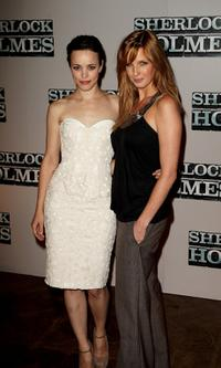 Rachel McAdams and Kelly Reilly at the pre-production press conference of