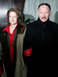 Arliss Howard and Debra Winger at the premiere of