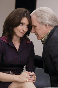 Tina Fey and Steve Martin in