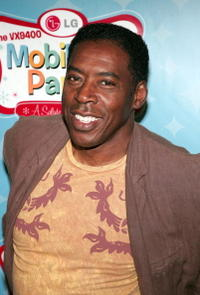 Ernie Hudson at the LG's Mobile TV Party.