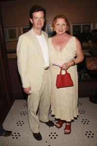 Dylan Baker and Becky Ann Baker at the Lincoln Center Theater opening night celebration for