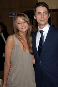 Sophie Dimmock and Matthew Goode at the premiere of