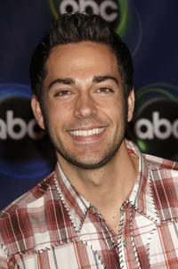 Zachary Levi at the ABC Winter Press Tour All Star Party.