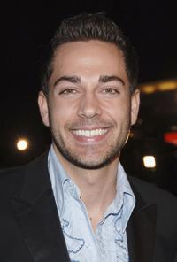 Zachary Levi at the premiere of