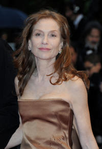 Isabelle Huppert at the premiere of