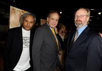 Director Udayan Prasad, producer Arthur Cohn and William Hurt at the California premiere of