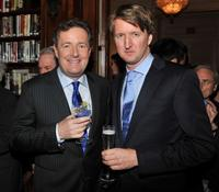 Piers Morgan and Tom Hooper at the luncheon to honor