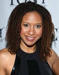 Tracie Thoms at the Tonys Go Hollywood event.