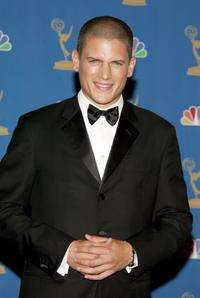 Wentworth Miller at the 58th Annual Primetime Emmy Awards.