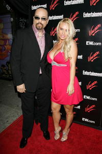 Ice T and wife Coco at the Upfront Party hosted by Entertainment Weekly and Vavoom.