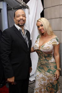 Ice-T and his wife Coco at the world premiere of