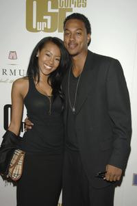 Denyce Lawton and Wesley Jonathan at the launch party of Our Stories Films.