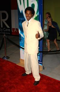 Wesley Jonathan at the WB Networks 2002 Summer Party.