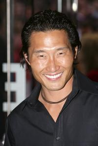 Daniel Dae Kim at the England premiere of