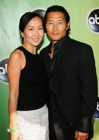 Daniel Dae Kim and his wife at the ABC Television Network Upfront.