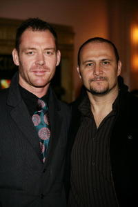 Marton Csokas and Russell Dykstra at the premiere of