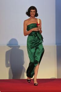 Anna Mouglalis at the Closing Ceremony of the 62nd Cannes Film Festival.