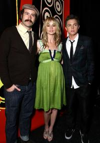 Jason Lee, Cameron Richardson and Jesse McCartney at the DVD release party and charity concert event.