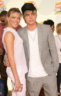 Katie Cassidy and Jesse McCartney at the 20th Annual Kid's Choice Awards.
