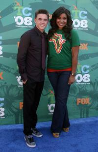Jesse McCartney and Jordin Sparks at the 2008 Teen Choice Awards.