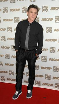 Jesse McCartney at the ASCAP's 25th Annual Pop Music Awards.