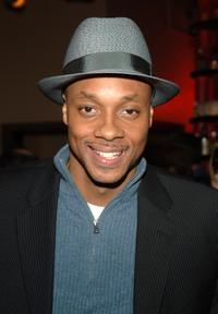 Dorian Missick at the after party of the off-Broadway opening of