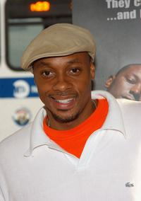 Dorian Missick at the premiere of