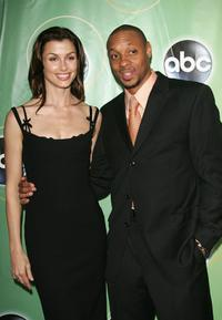 Bridget Moynahan and Dorian Missick at the ABC Television Network Upfront.