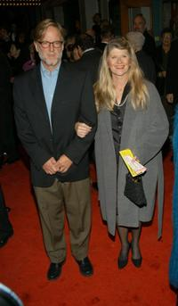 Judith Ivey and Guest at the opening night of Broadway revival of