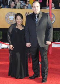 Liza Colon-Zayas and David Zayas at the 16th Annual Screen Actors Guild Awards in California.