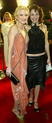 Kate Hudson and Annie Parisse at the premiere of