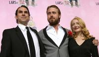 Paul Schneider, Ryan Gosling and Patricia Clarkson at the premiere of